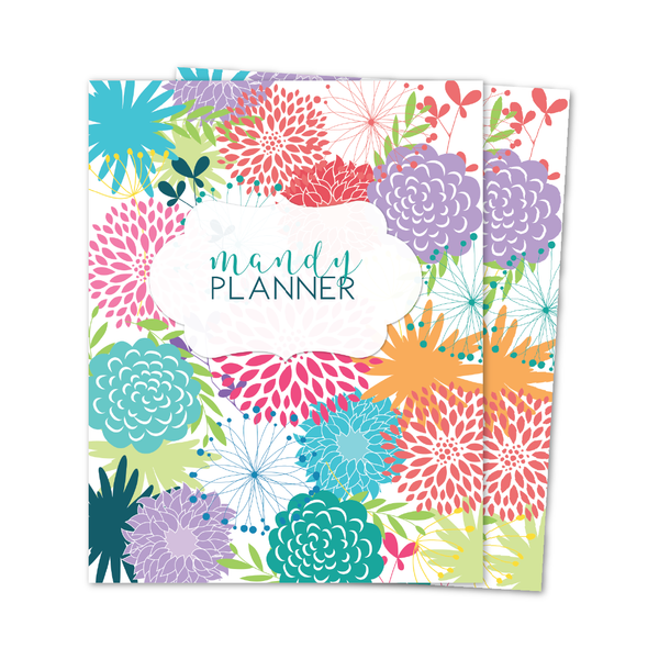 A5 MANDY WEEKLY PLANNER INSERTS