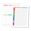 Meal Planning (Layout B) Planner Add-On
