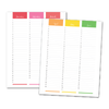 Magic Mouse Weekly Planner