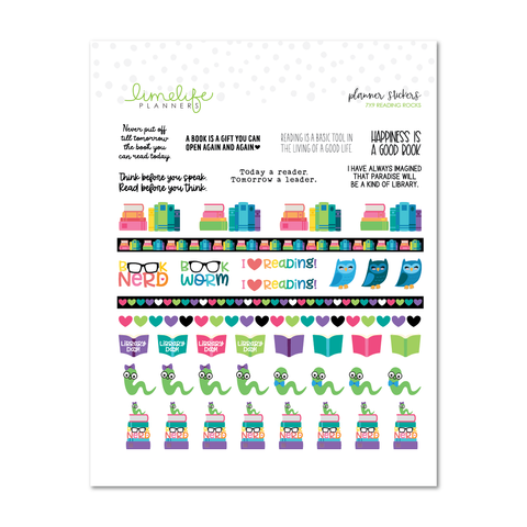 7x9 Reading Rocks Sticker Sheet