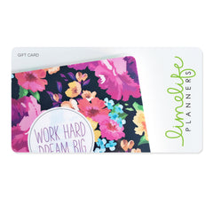 Limelife Planners Gift Card