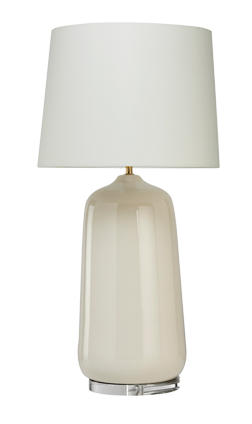 Whitney Table Lamp in Cream