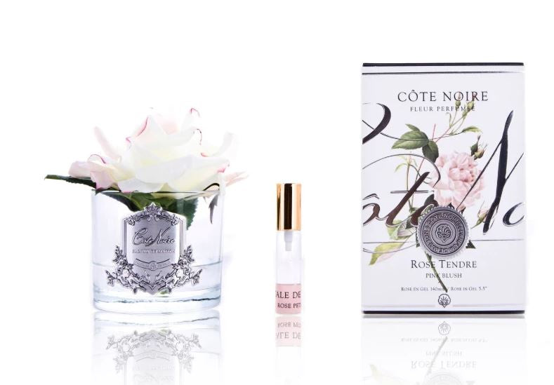 Côte Noire Perfumed Natural Touch Rose in Clear - Pink Blush