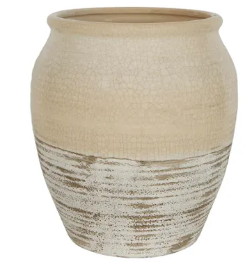 Tuscan Pot Large Ivory