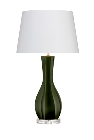 Radda Tuscan Green Table Lamp
