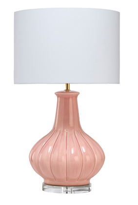 Gabrielle Table Lamp - Light Pink