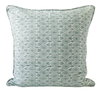 Yuzu Celadon Linen Cushion