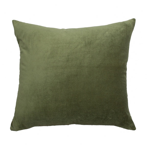 Essential Fern Linen Velvet 50 x55cm Cushion
