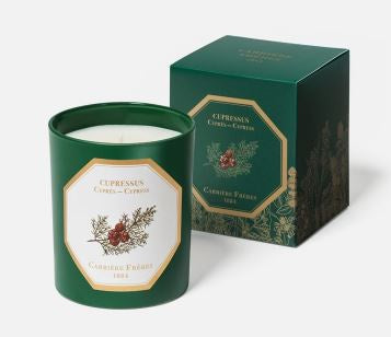 Carriere Freres Cypress Candle