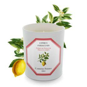 Carriere Freres Siracusa Lemon Candle 185g
