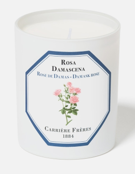 Carriere Freres Damask Rose Candle 185g