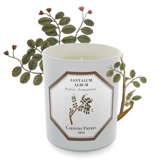 Carriere Freres Sandalwood Candle 185g