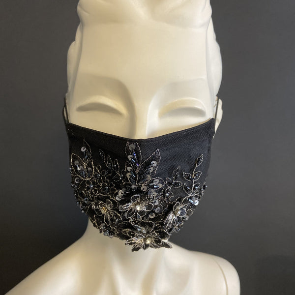 Glitzy Girl - Handmade Face Mask with Filter Pocket Insert