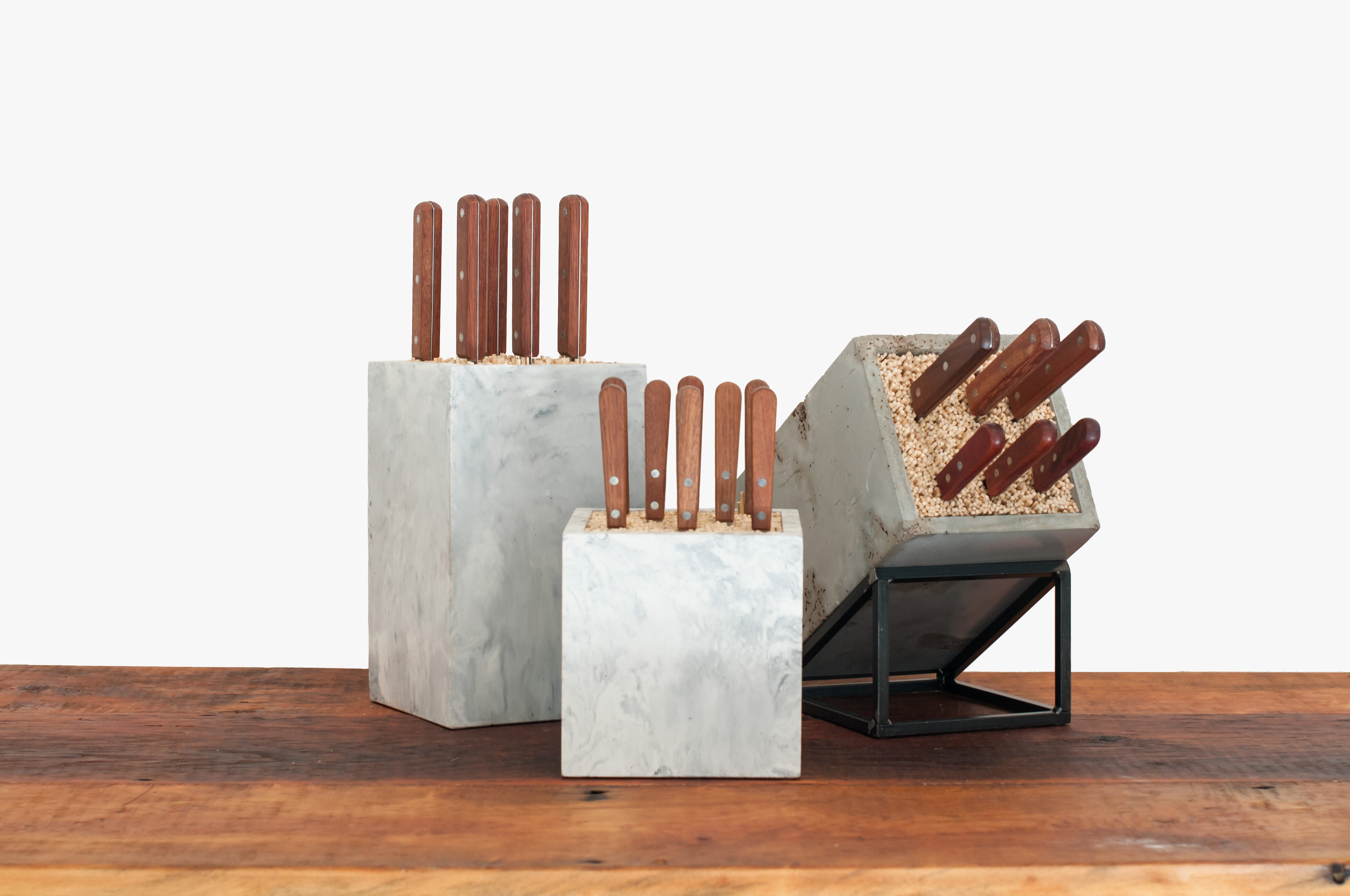 konkret knife block collection