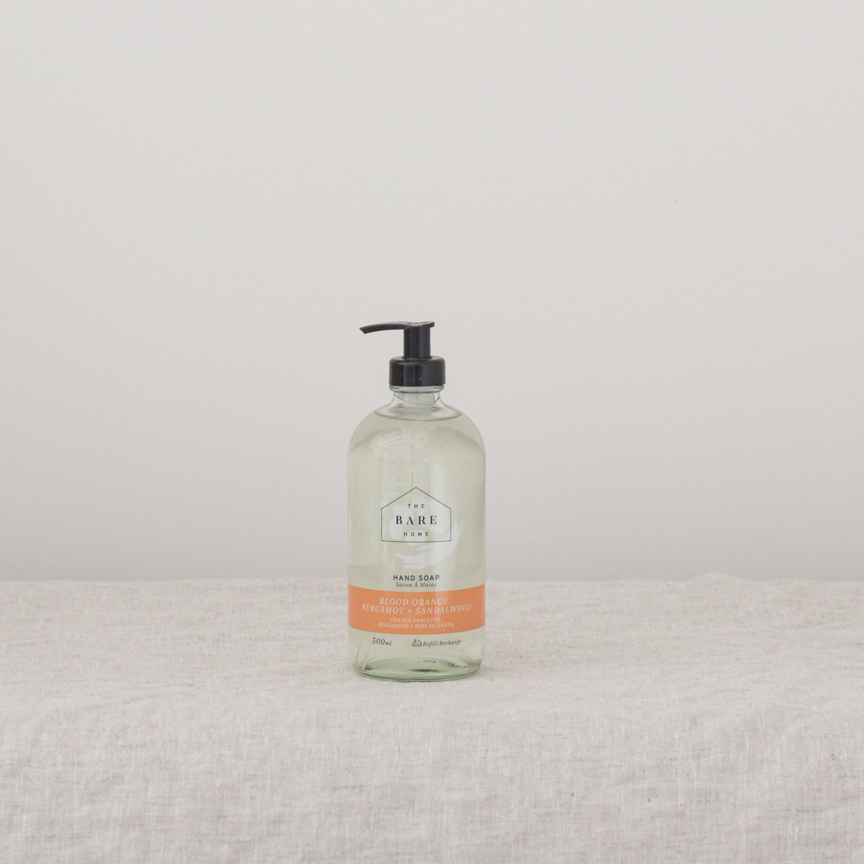 Blood-Orange + Bergamot + Sandalwood Hand Soap 500ml