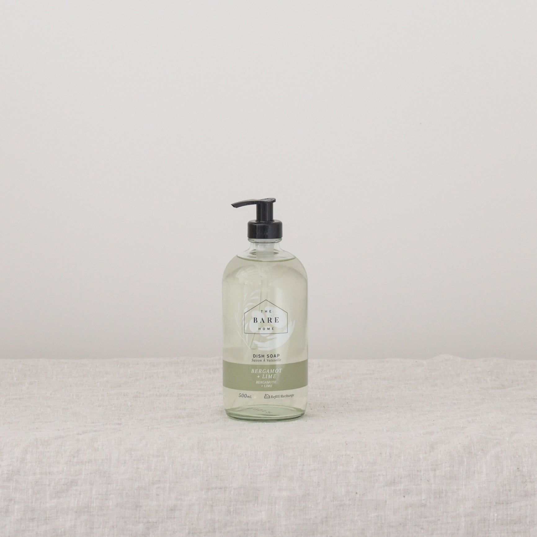 Bergamot + Lime Dish Soap 500ml