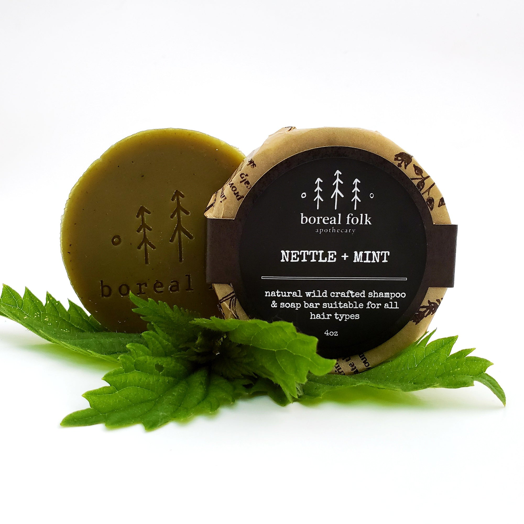 Nettle + Mint Soap/Shampoo Bar