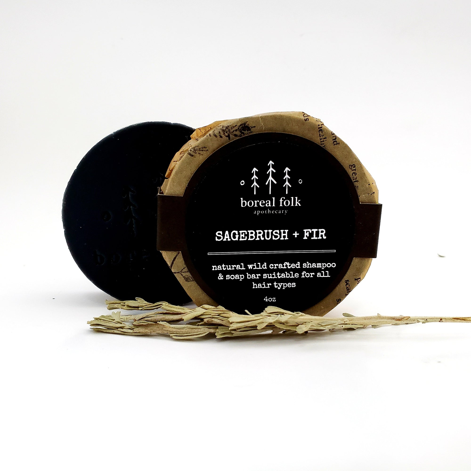 Sagebrush + Fir Soap/Shampoo Bar