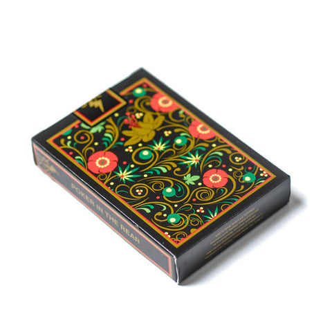 SSUR Controlled Substance Khokhloma Bicycle Official Playing Cards