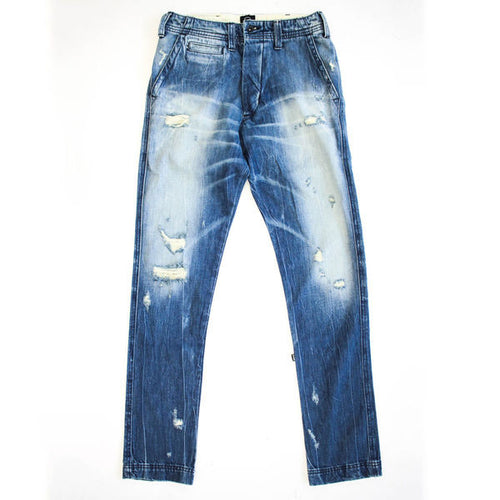 Washed Denim Chino