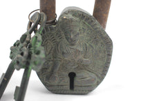 z Ancient Asian Lock with Keys