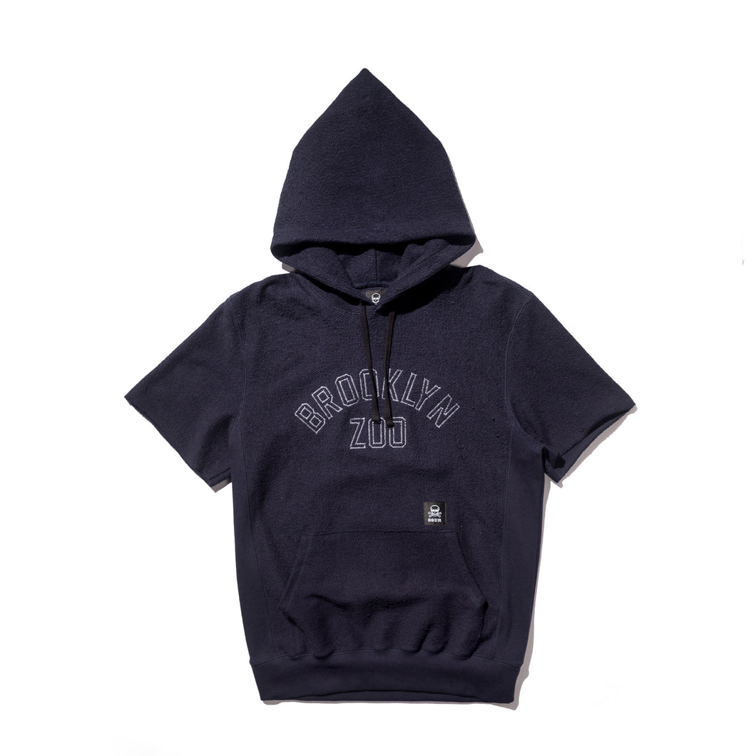 Inside Out Brooklyn Zoo Cut Off Hoody
