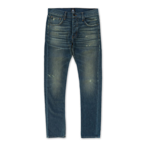 Treated Denim Pant