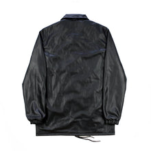 Faux Leather Coach Jacket
