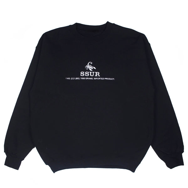 Embroidered Scorpion Kilo Crewneck