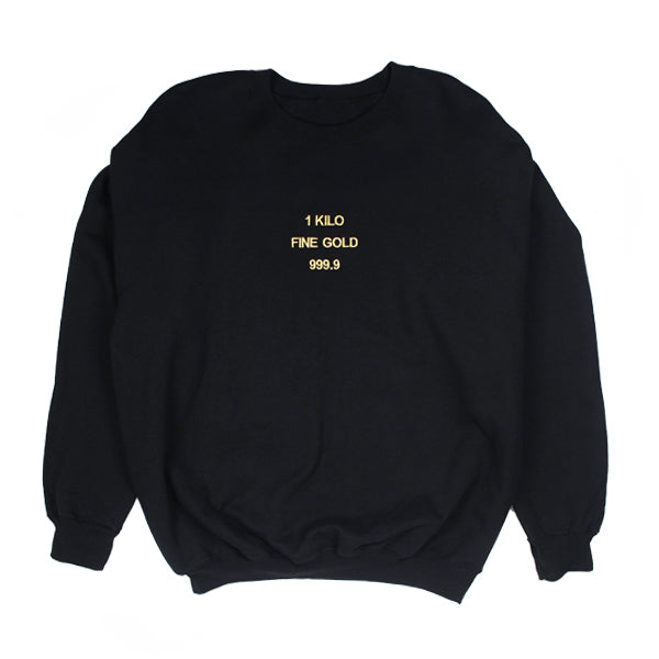 Embroidered Kilo Crewneck