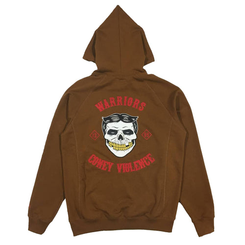 SSUR WARRIORS EMBROIDERY OLD SCHOOL HOODIE