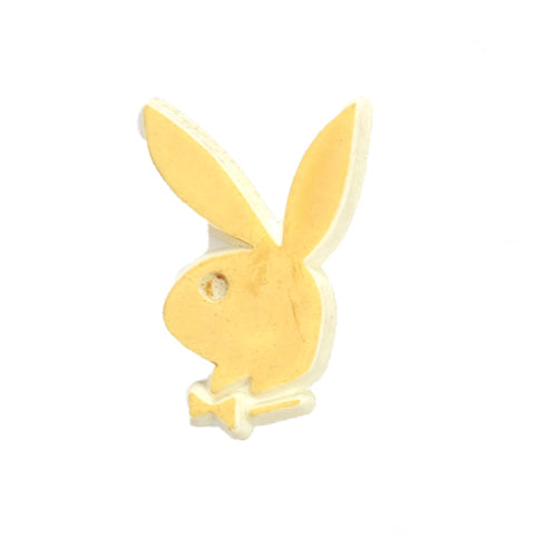 Vintage Yellow Playboy Pin