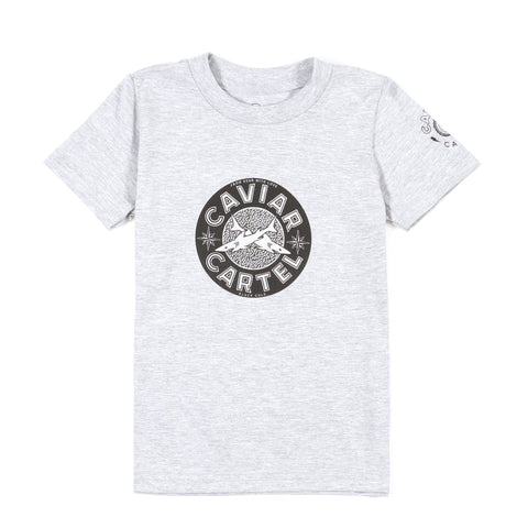 Caviar Cartel-Kids Classic Tin T-shirt