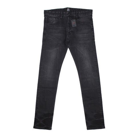 Distressed Black Made in OD Denim Pant