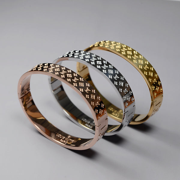 Louis Vuitton Nanogram Cuff - Designer Inspired