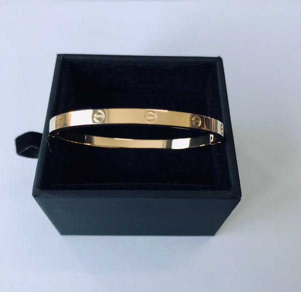 *NEW LINE* Cartier Style Love Bangle for Children - EXCLUSIVE TO NORE