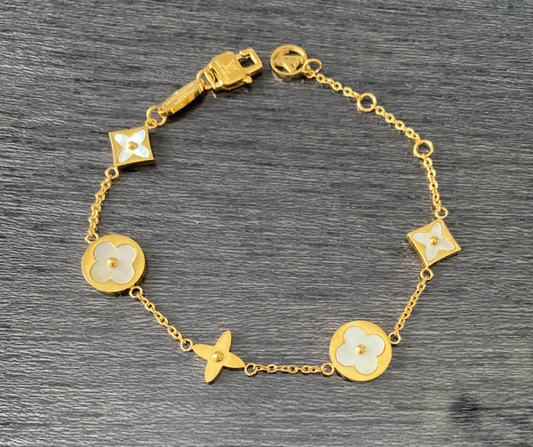 Louis Vuitton Colour Blossom Bracelet - Rose Gold and Gold