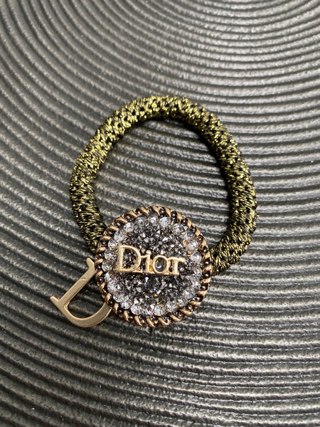 Christian Dior Hair Bobble - Designer Inspired