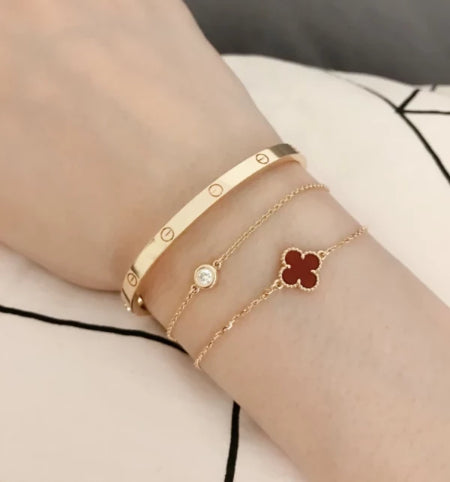 Cartier love bracelet small