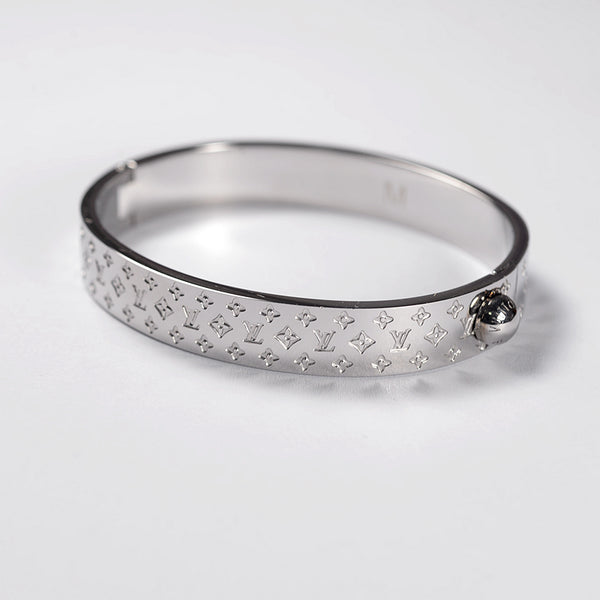 Louis Vuitton Nanogram Cuff Bracelet