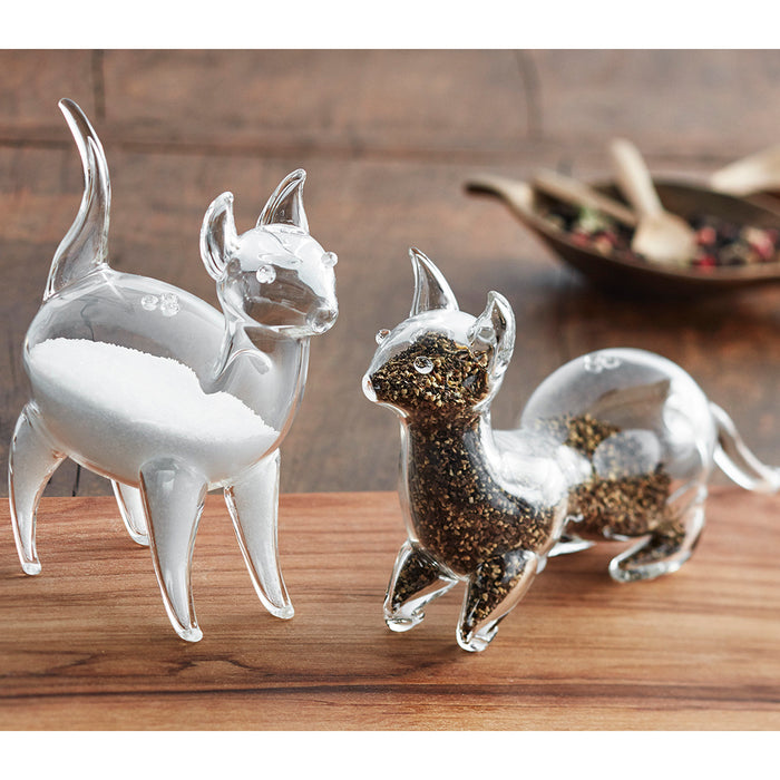 Salt & Pepper Shakers - Cat