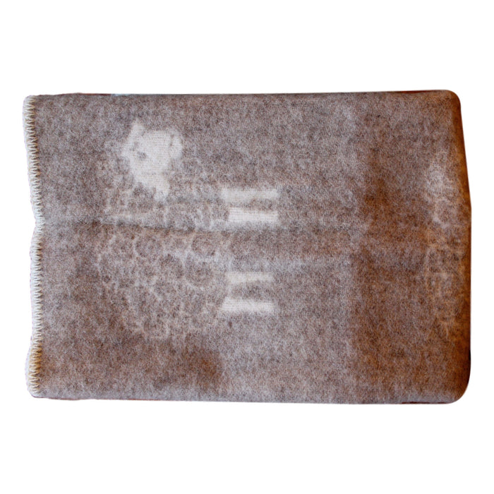 Organic Wool Baby Blanket - Sheep - PasParTou