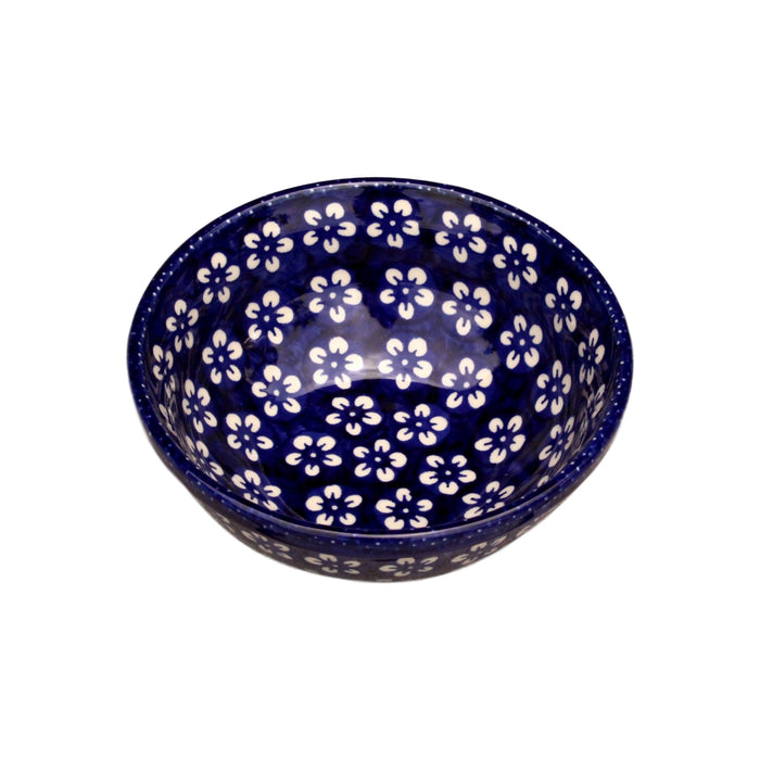 Blue Flowers - Salad Bowl - Pas-Par-Tou