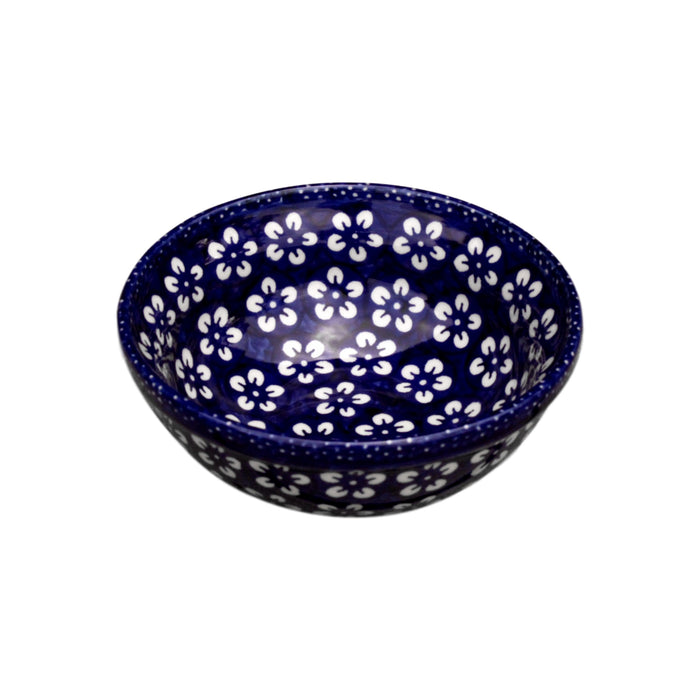 Blue Flowers - Small Serving Bowl - Pas-Par-Tou