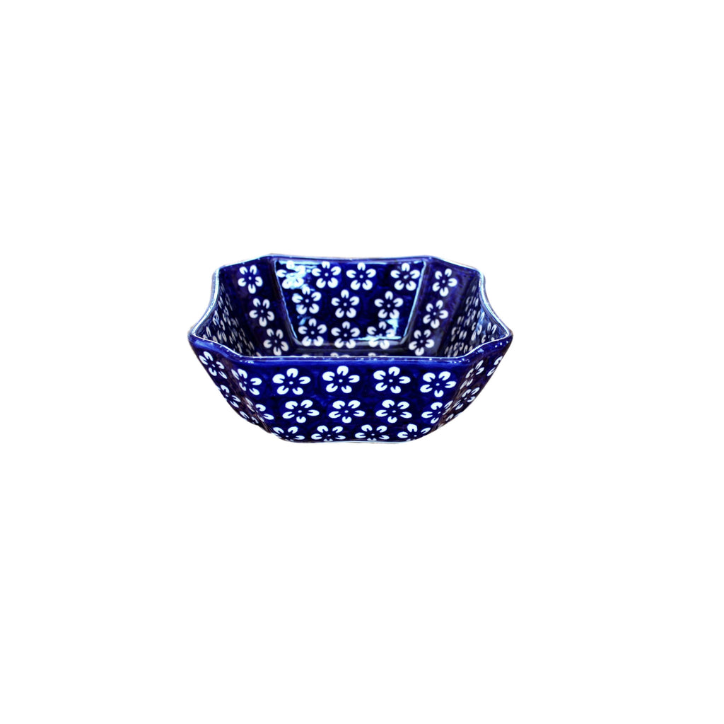 Blue Flowers - Bowl Magdalene M  Polish Ceramics - PasParTou
