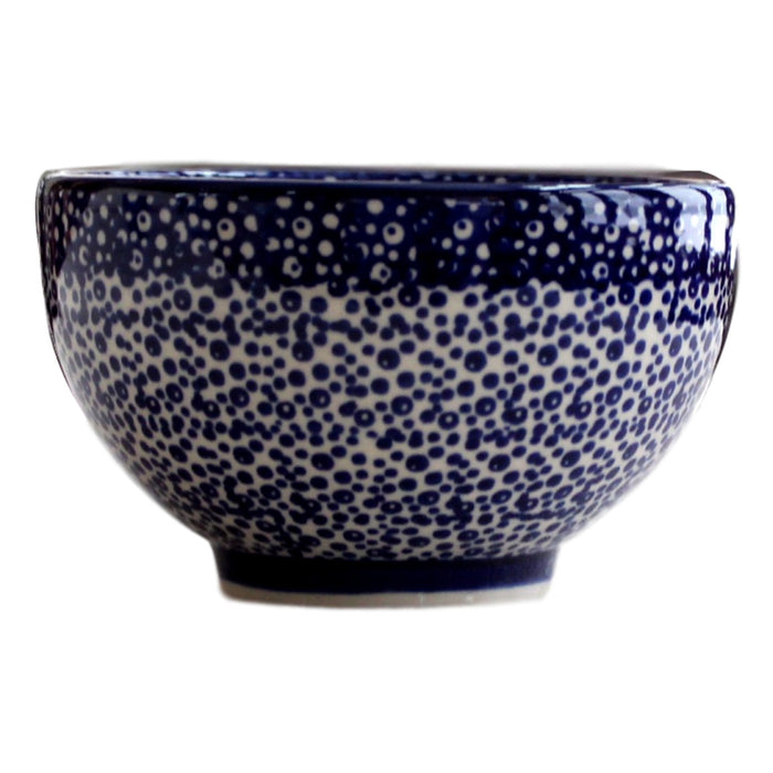 Blue Spatter - Bowl for starters  Polish Ceramics - PasParTou