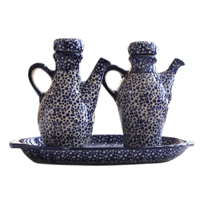 Tiny Blue Bubbles- Oil and Vinegar Set - PasParTou