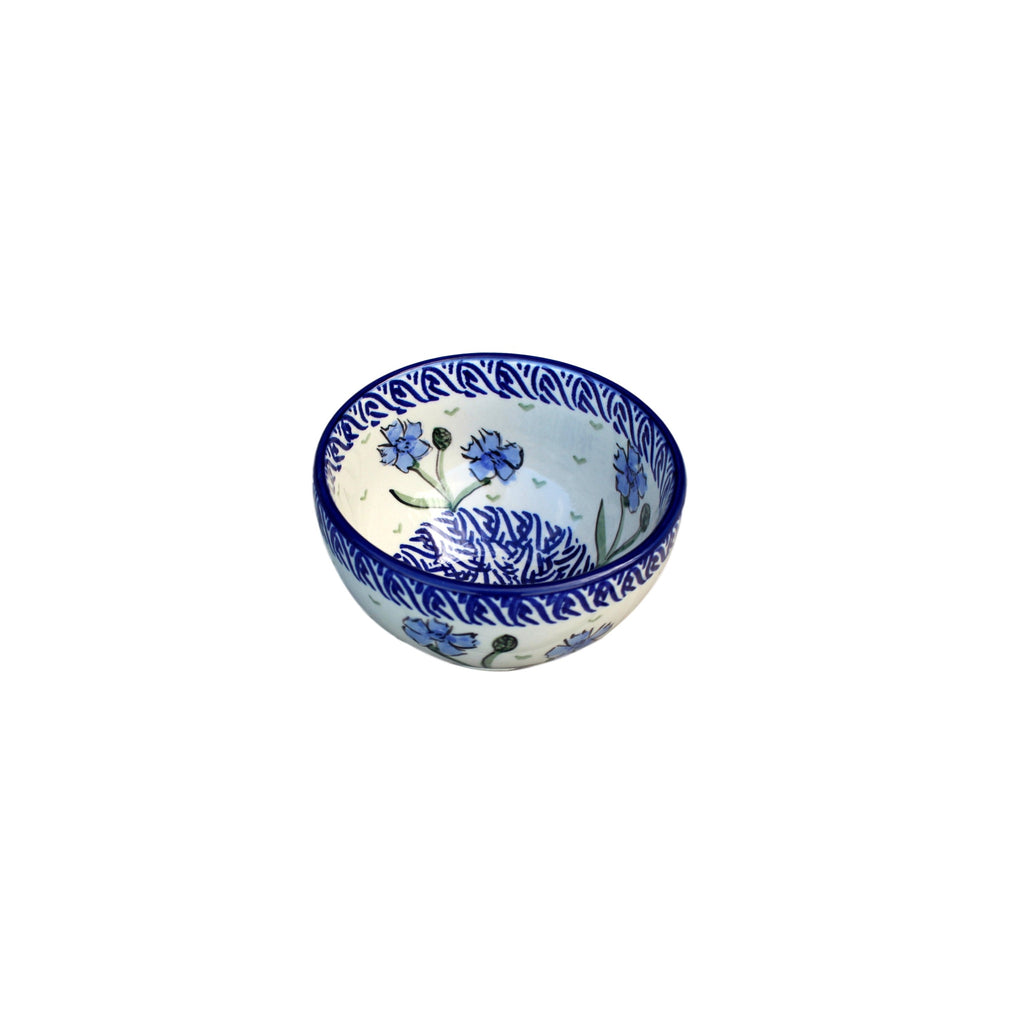 Blue Dahlia - Bowl for Starters  Polish Ceramics - PasParTou