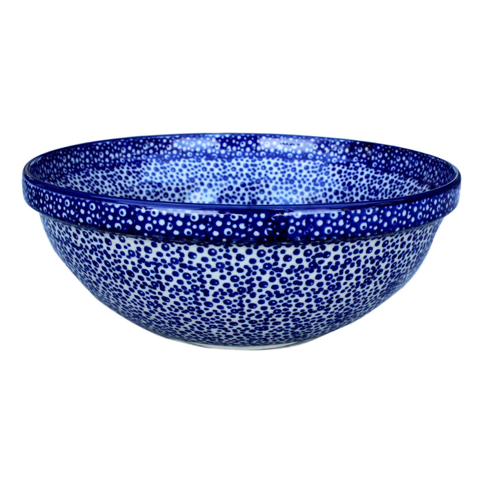 Blue Spatter - Small Serving Bowl - PasParTou