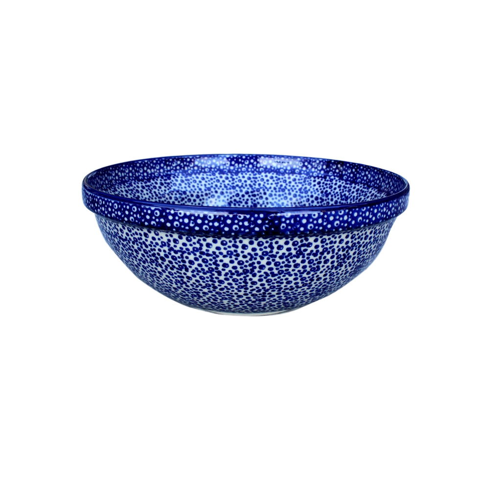 Blue Spatter - Small Serving Bowl - Pas-Par-Tou